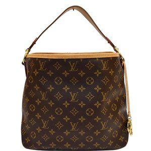 Louis Vuitton Delightful Pm Damier Ébène Handbag